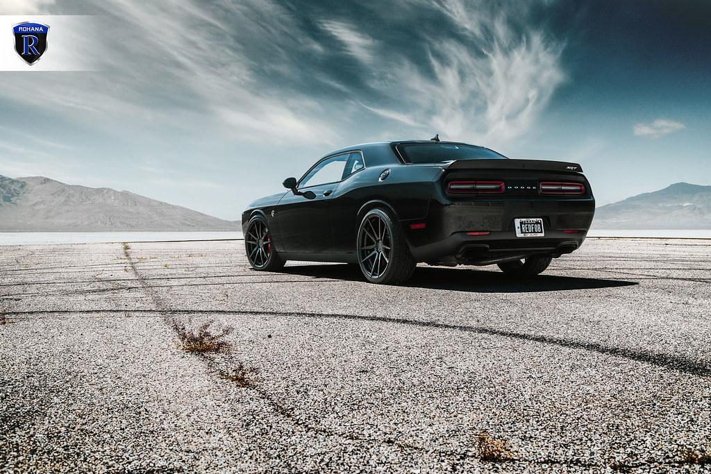 Dodge-Challenger-Hellcat---RF2-Matte-Black-(3) | Rohana