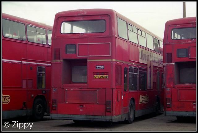 Merseybus - 2258 GYE258W
