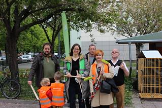 Putz-und Pflanzaktion in der Luisenstadt in Berlin-Mitte   by Europa Silke