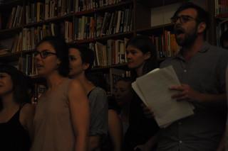 Subchor in der Bibliothek von Unten