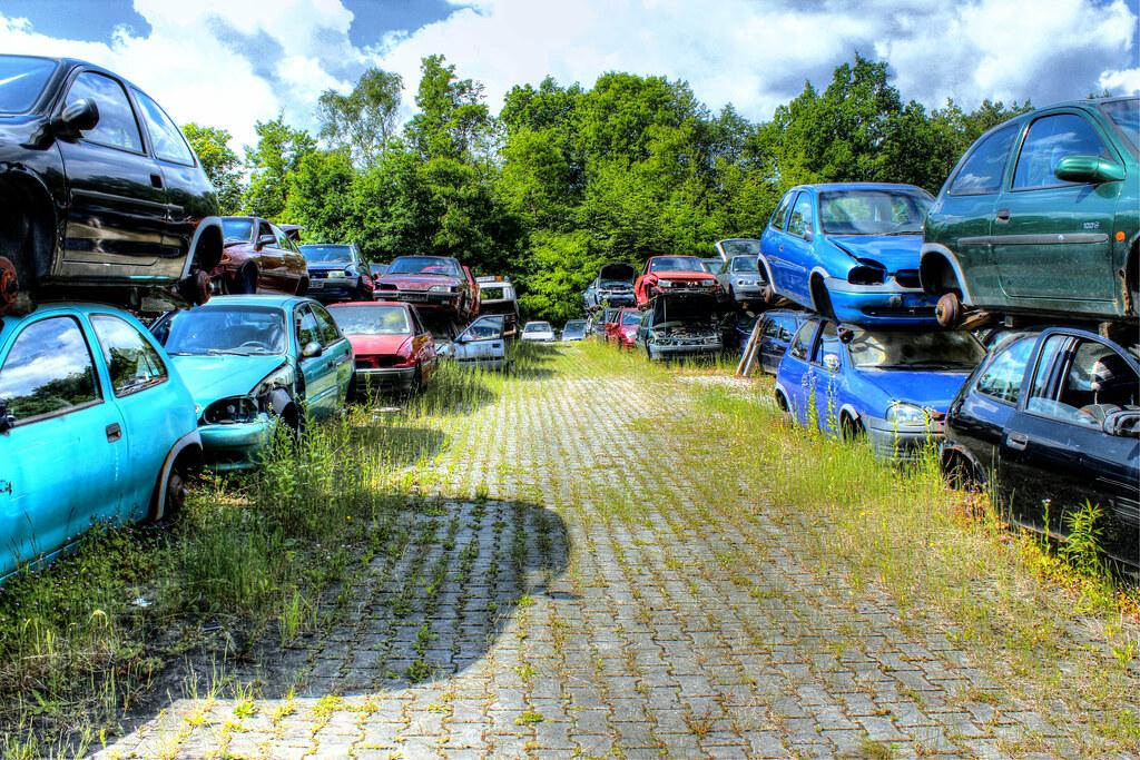 Autofriedhof Bayern