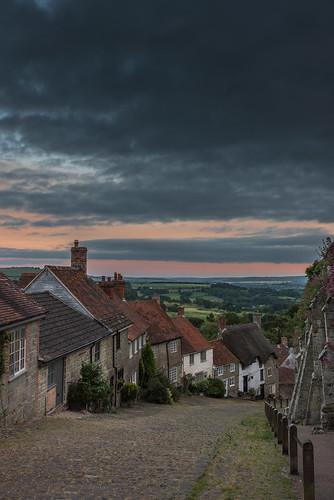 sunset coubtryside cottages houses england hovishill goldhill uk shaftesbury dorset