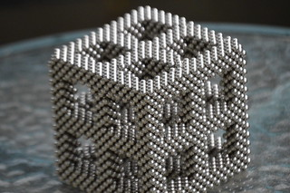 Interlinked Diagonal Cubes