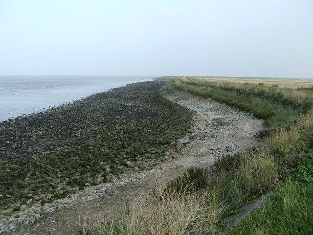 The coast at Allhallows-on-Sea