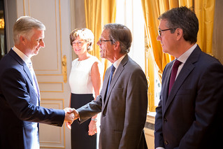 Executive Council meet H.M. King Philippe of the Belgians | by AmCham EU