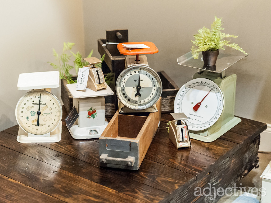Vintage scales in Altamonte by Anna Phillips Design