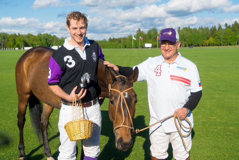 Best polo pony, Andrew Drummond Moray & Alexey Rodzianko