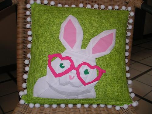 """Rabbit"" from Quilt Art Designs"