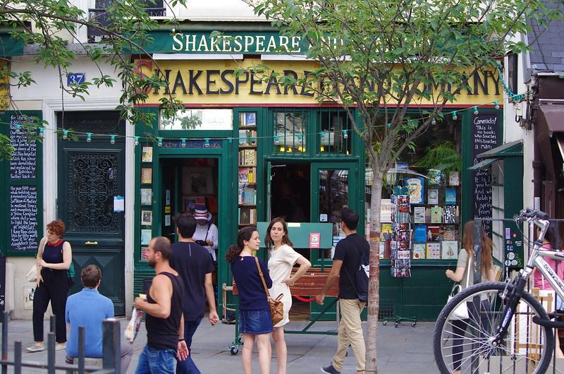 Paris Juin 2017 77 - Shakespeare & Company Quai de Montebello