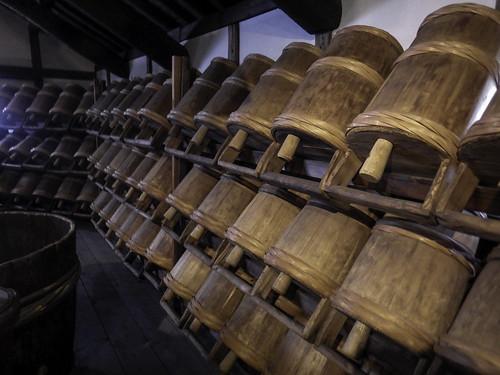 Traditional sake production tools