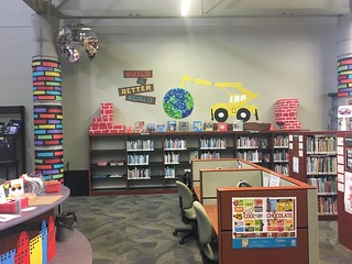 Brandon Library - Looks like summer!