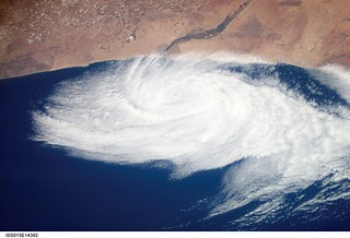Low Pressure System Near Morocco