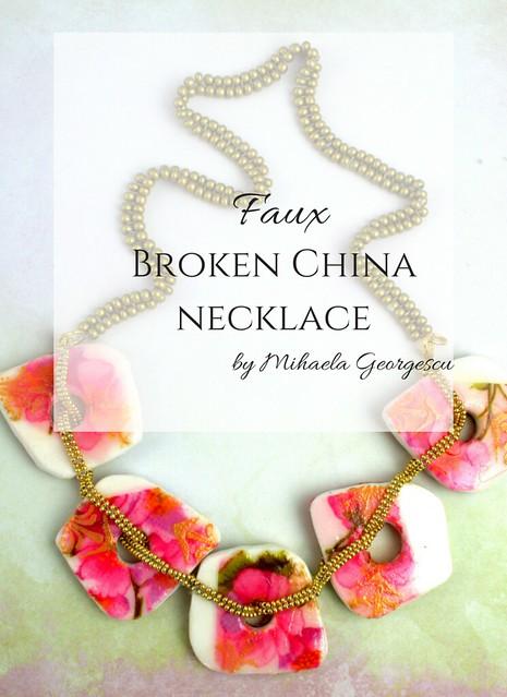 Polymer Clay Faux Broken China blog image