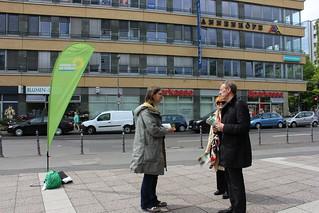 Putz-und Pflanzaktion in der Luisenstadt in Berlin-Mitte | by Europa Silke