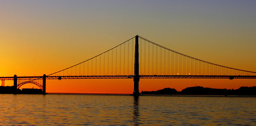 usa sunset bridge goldengatebridge evening lumix glow dusk panasoniclumix lumixfz1000 fz1000