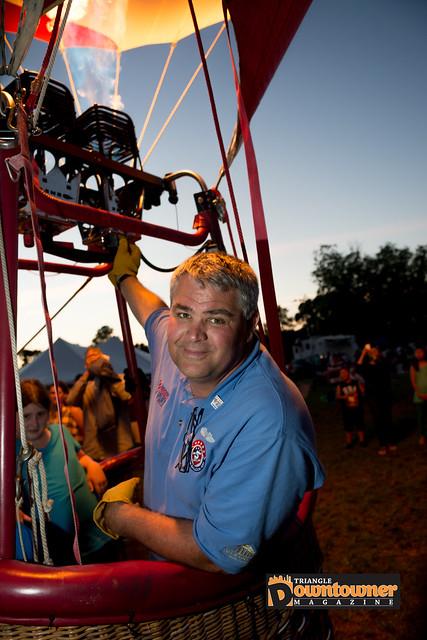 Wral Balloon Fest Co-Founder Tom Latin