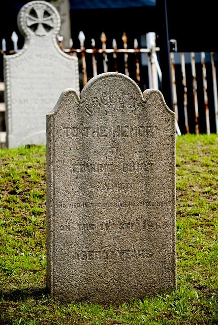 函館外国人墓地 09 Edward Buist 1848-1865