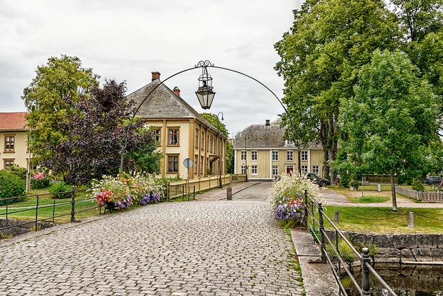 Small town in Sweden
