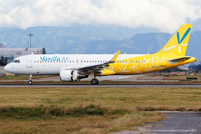 Vanilla Air [JW][VNL] / JA04VA / A320-214 / RCTP