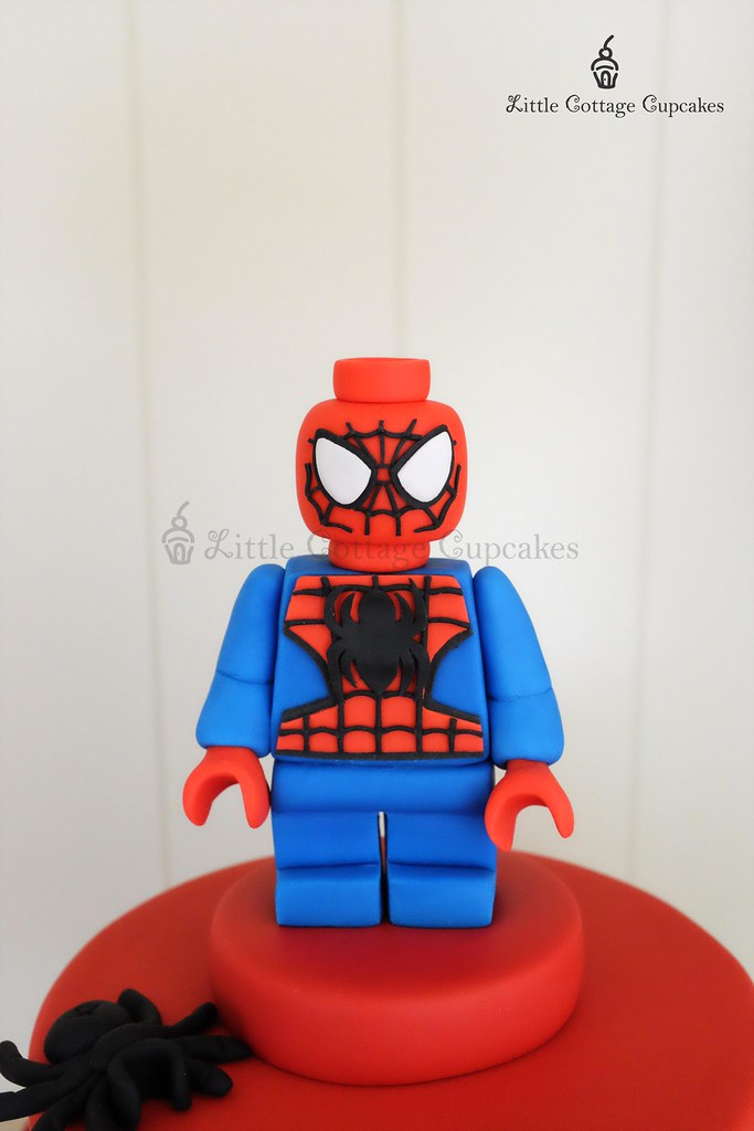 Lego Spiderman Cake Topper | Natasha | Flickr