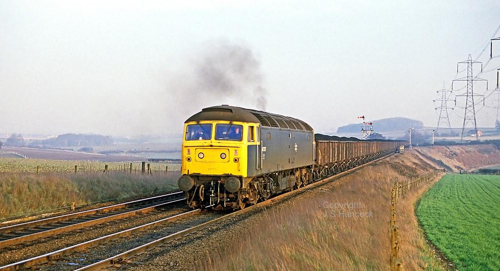 47377. Loaded coal duff. Clipstone W. Jct.