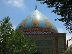 Blue mosque in Yerevan