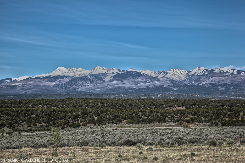 View of the mountains from the Visitor Center