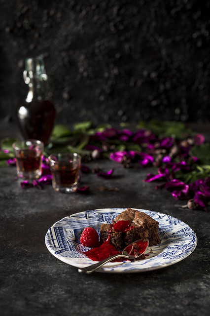 Tipsy Chocolate Cake