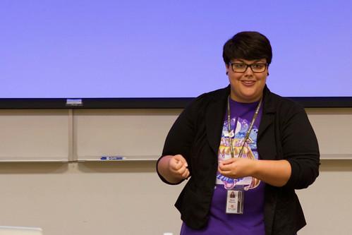 Nicole Oquendo Speaks to Creative Writing Students