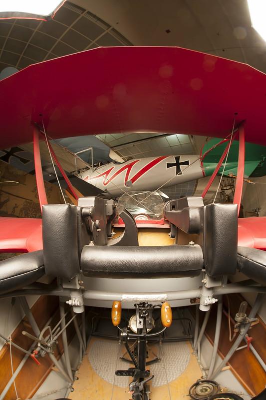 Fokker DR1 cockpit