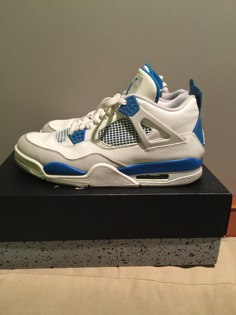 los angeles 53e1e dd099 Military blue 4s For Sale ( size 11 ) want cash they are w ...