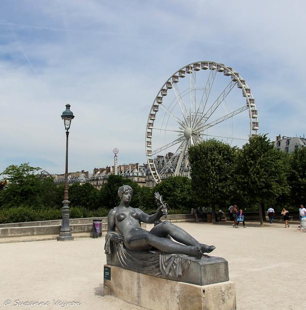 Jardin du Palais Royal à Paris