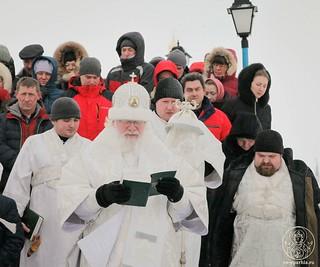 Литургия в Иверском монастыре 650