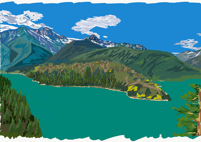 My Drawings - North Cascades NP Ross Lake NRA