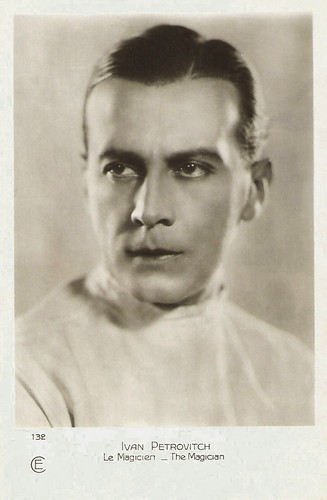 Iván Petrovich in The Magician (1926)