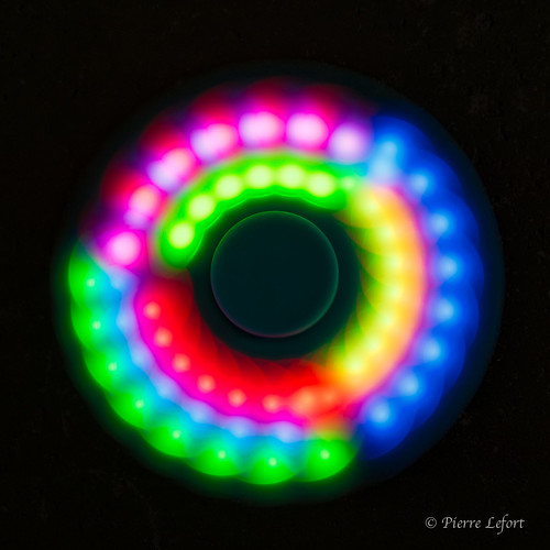 Hand spinner LED-2 | by pierre lefort