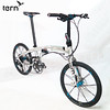 351-TERB-VER-1705 Tern 2017 Verge X11 (00)鋁合金折疊車22吋11速1x傳動系統451輪組T-Tune幾何-銀底黑標