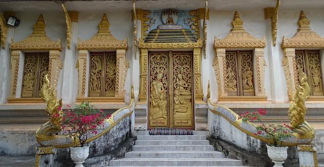 Temple at Viantiane - Laos