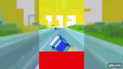 Dashy Crashy per iPhone e Android - un racing game 'endless' pazzesco!!!