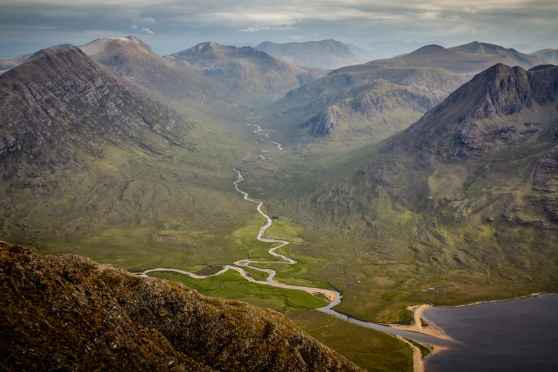 The Great Wilderness from An Teallach