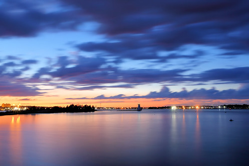 le longexposure slowshutter sun sunset sky newengland beauty nature landscape waterfront newbedford massachusetts ocean water clouds