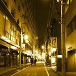 Golden Tokyo night