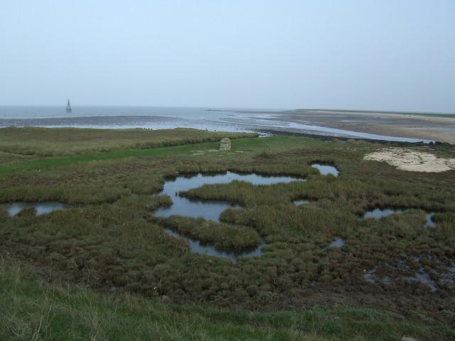 Memorial near Allhallows-on-Sea