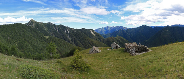 Alpe Bassa, Valle Vergeletto. Canton Ticino, Svizzera