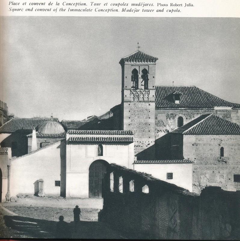 Convento de la Concepción Francisca. Libro de Víctor Crastre. Foto de Robert Julia