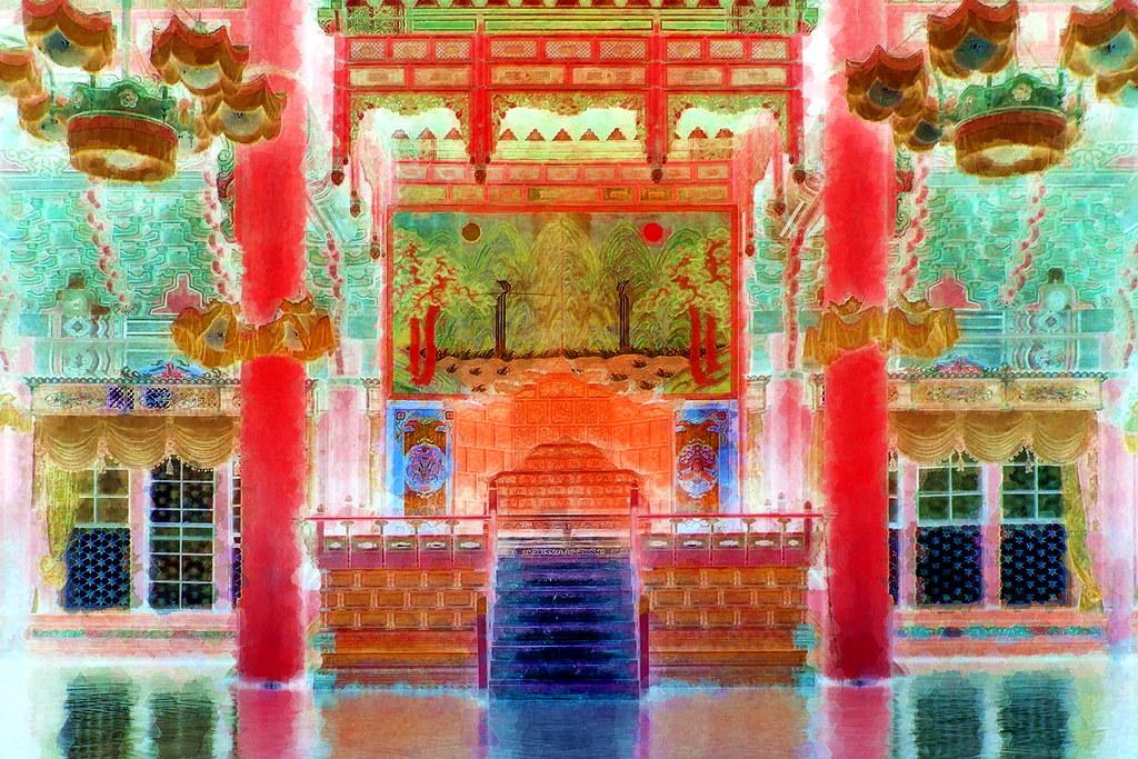 South Korea - Seoul - Changdeokgung Palace - The Royal Thr