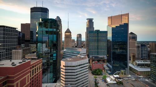 Downtown Minneapolis Skyline | by relux.