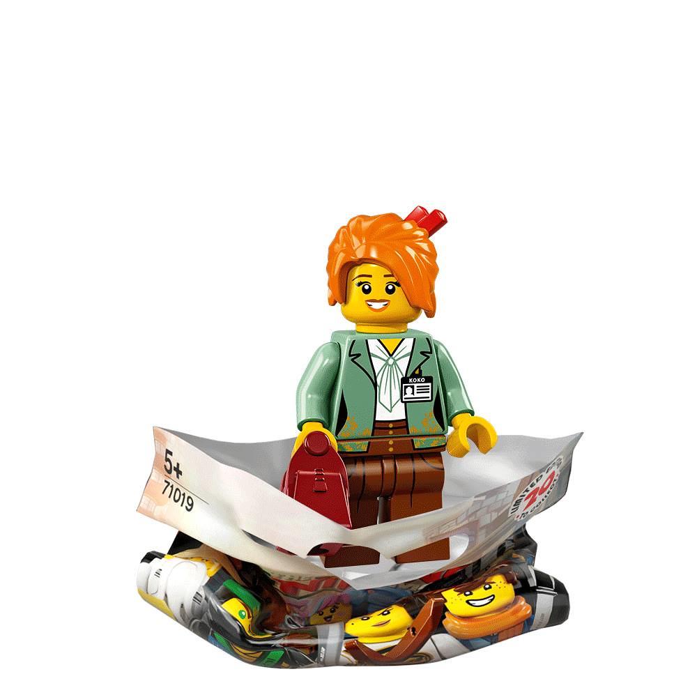 THE LEGO NINJAGO MOVIE SERIES ~ 71019 ~ MISAKO ~ NEW