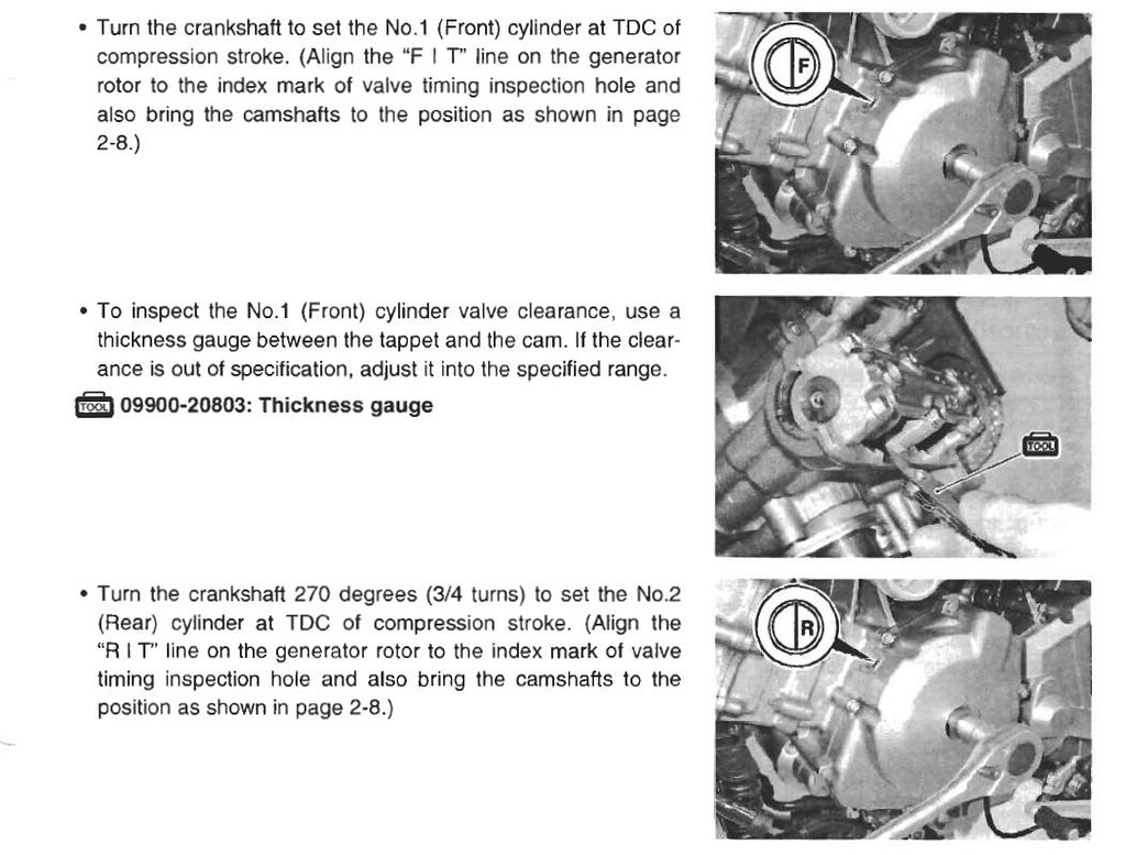 DL650 valve clearance procedure | Patrick Beal | Flickr