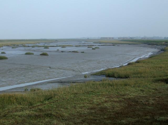The coast near Allhallows-on-Sea